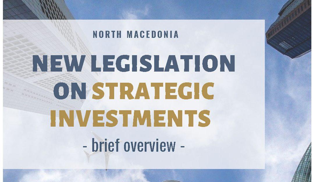 New Legislation on Strategic Investments