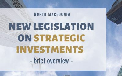 New Legislation on Strategic Investments