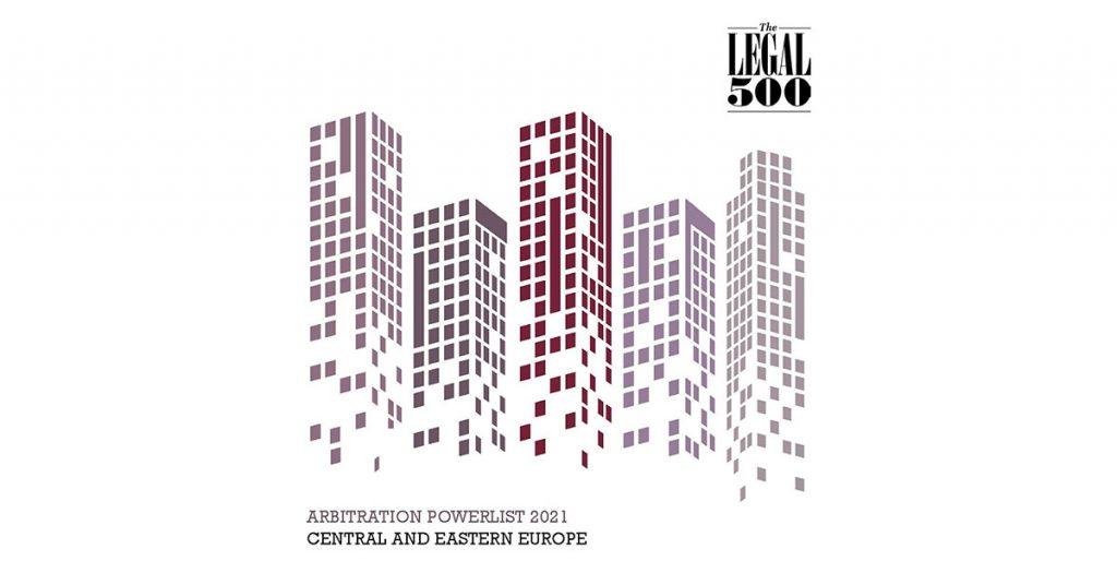 Legal 500 - Arbitration Powerlist 2021